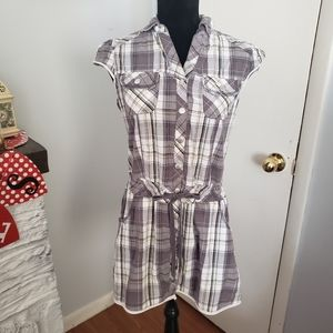 🍒5for$10 Be Bop plaid dress. Size Medium